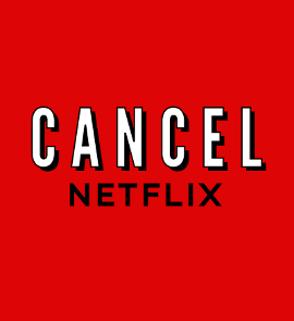 Cancel Netflix graphic