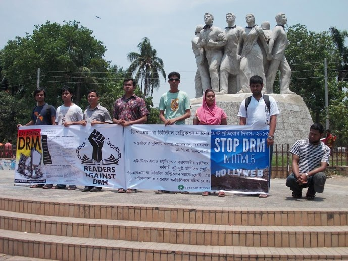 FOSS Bangladesh at Day Against DRM