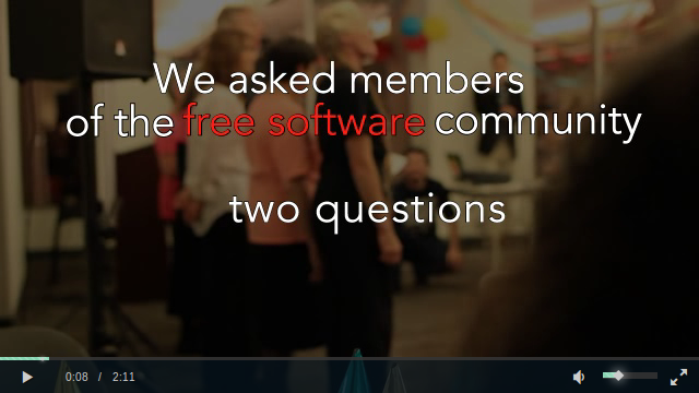 We asked  members of the free software community to share their stories.