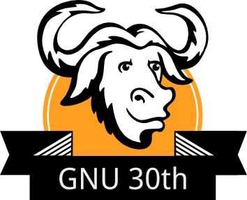 GNU30 logo