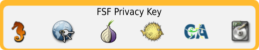 FSF Privacy Key