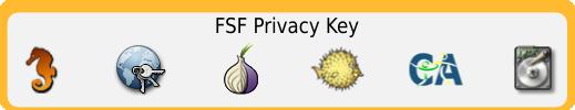 FSF Privacy Key