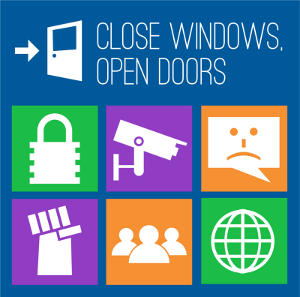 Close Windows, Open Doors
