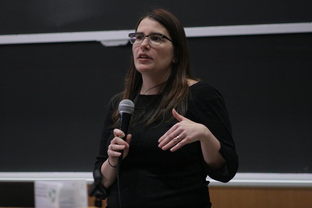 Karen Sandler at LibrePlanet