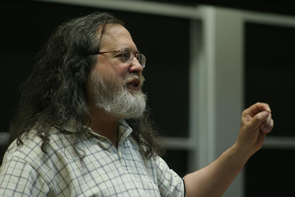Richard Stallman at LibrePlanet
