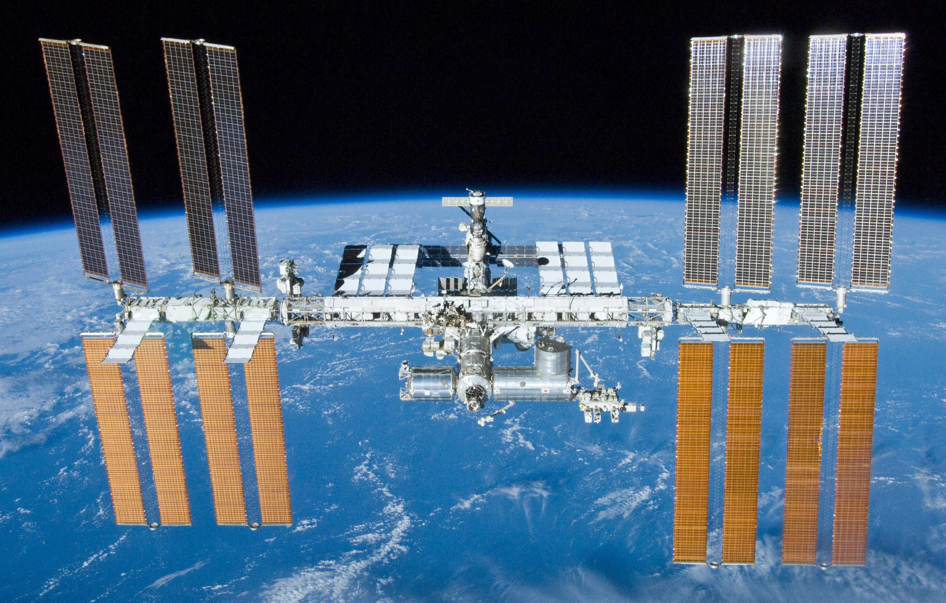 The International Space Station, now using GNU/Linux