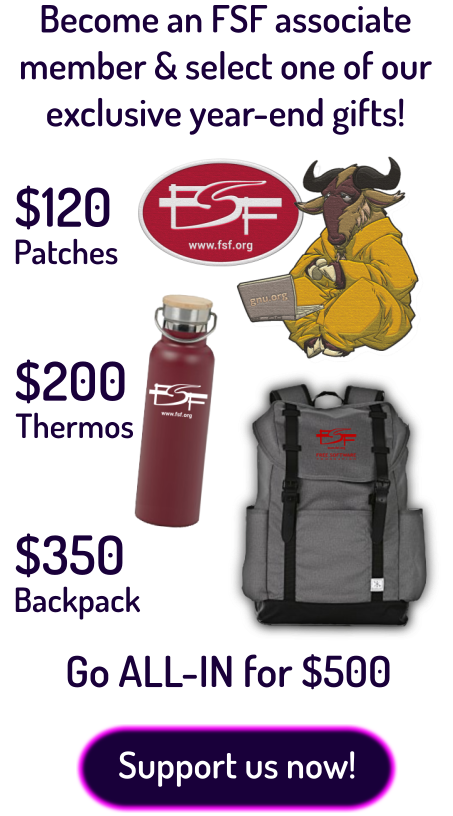 fall 2019 fundraiser premiums