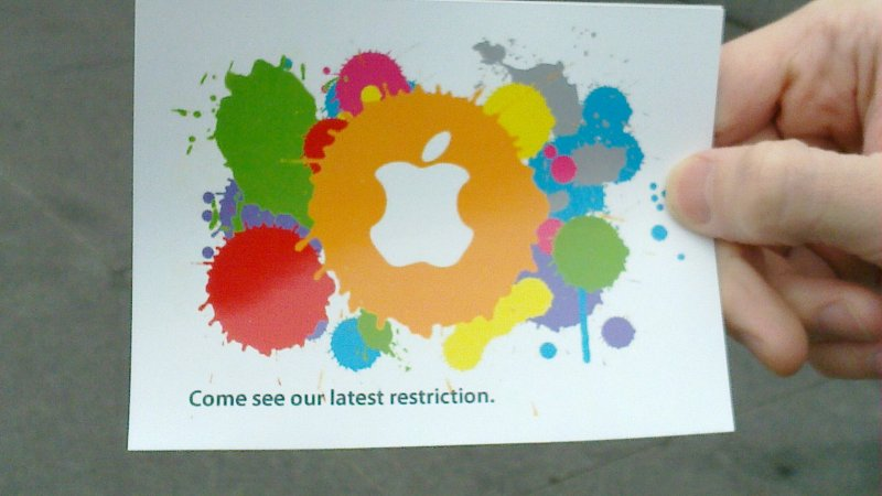 Defective by Design -- Apple Restriction Zone
