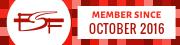 FSF Member since 2016