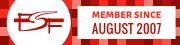 FSF.org member since 24.08.2007