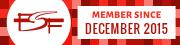 FSF member since 2015