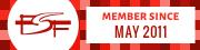 FSF Member Since 2011-05-31