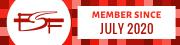 FSF Member badge