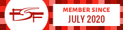 Free Software Foundation member since July 2020