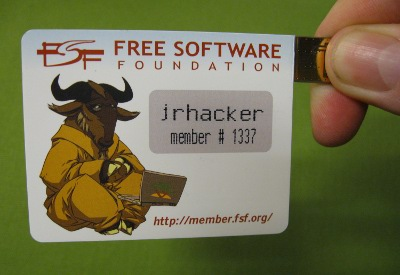 Picture of USB Member Card