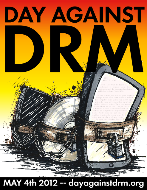 Day Against DRM poster