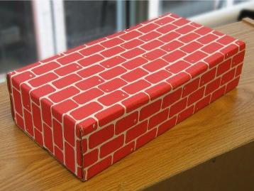 Cardboard Brick
