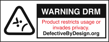 Defective by design against DRM