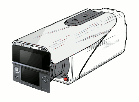 Nintendo 3DS surveillance camera