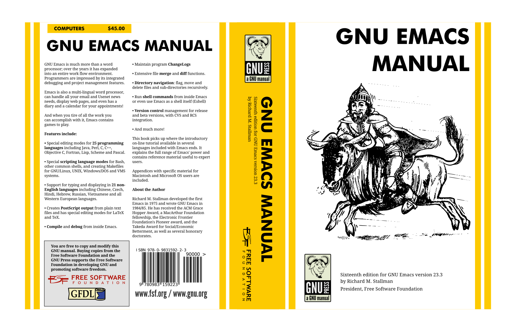 a printed version of gnu emacs manual 24 3 emacs rh reddit com gnu emacs 24.5 reference manual pdf GNU Emacs Riced