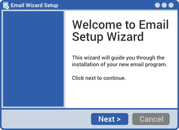 Step 1.A: Install Wizard
