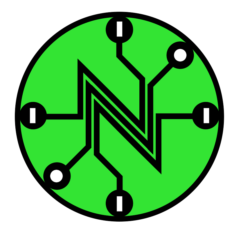 Net Neutrality logo from openclipart.org -- Original Net Neutrality logo is licensed under CC0 by Camilo Sanchez from Wikipedia: en.wikipedia.org/wiki/Net_neutrality/File:Netneutrality_modern_template_pure_svg.svg