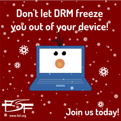 Don't let DRM freeze you out!