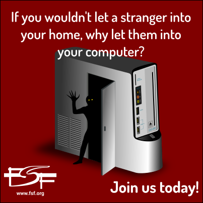 If you wouldn't let a stranger into your home, why let them into your computer?