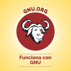 Powered by GNU