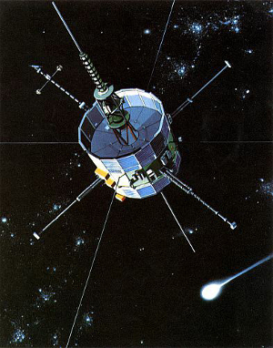 The ISEE-3 spacecraft