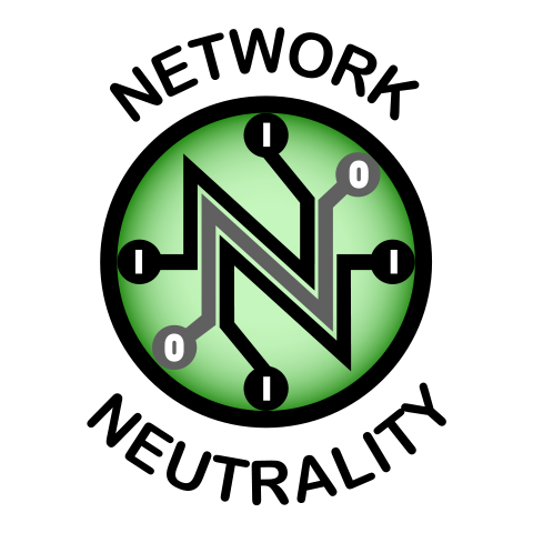 Protect software freedom: Support net neutrality - https://commons.wikimedia.org/wiki/File:NetNeutrality_logo.svg