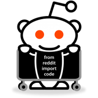 Reddit's free software logo