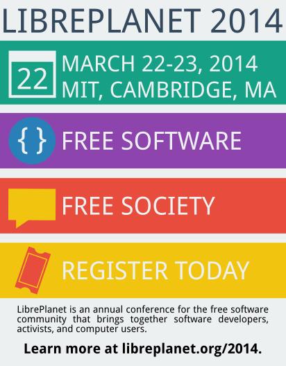 LibrePlanet 2014