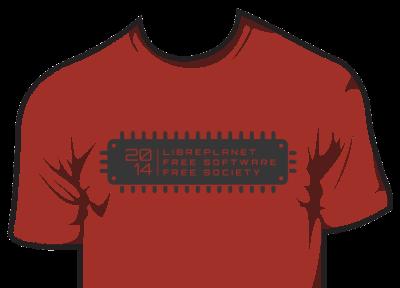 LibrePlanet 2014 t-shirt