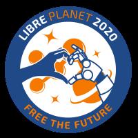 libreplanet 2020 logo