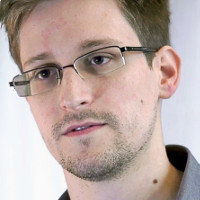 Photo of Edward Snowden