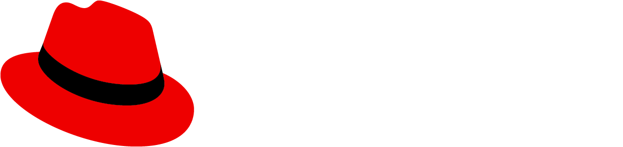 The red hat logo.