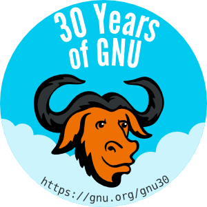 https://static.fsf.org/nosvn/misc/GNU_30th_badge.png