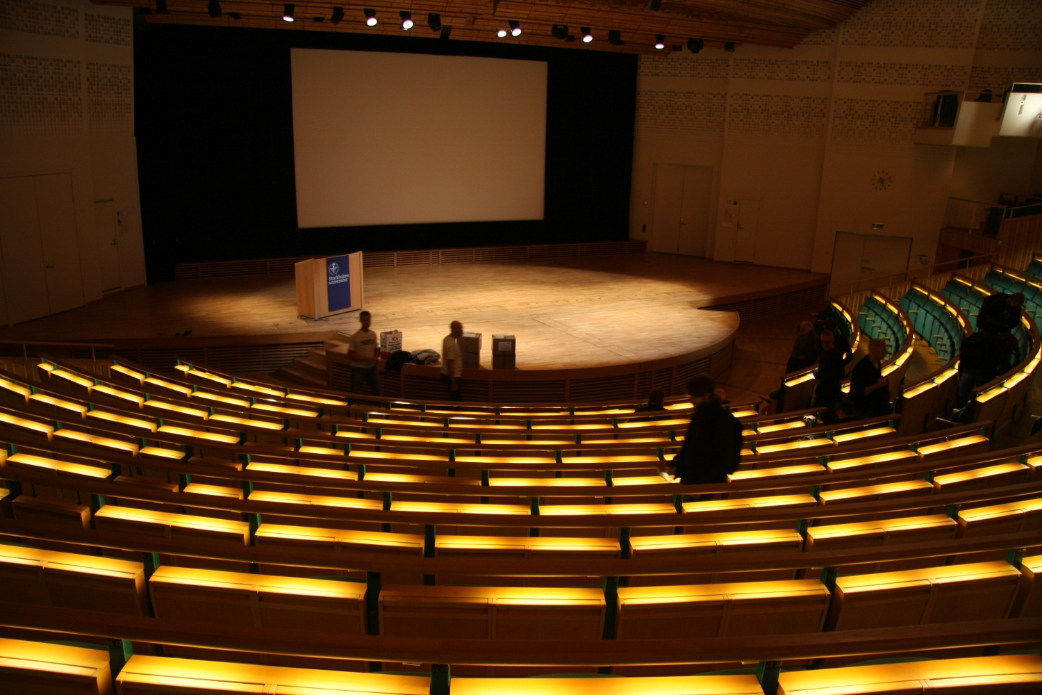 in the aula magna at stockholm university  u2014 free software