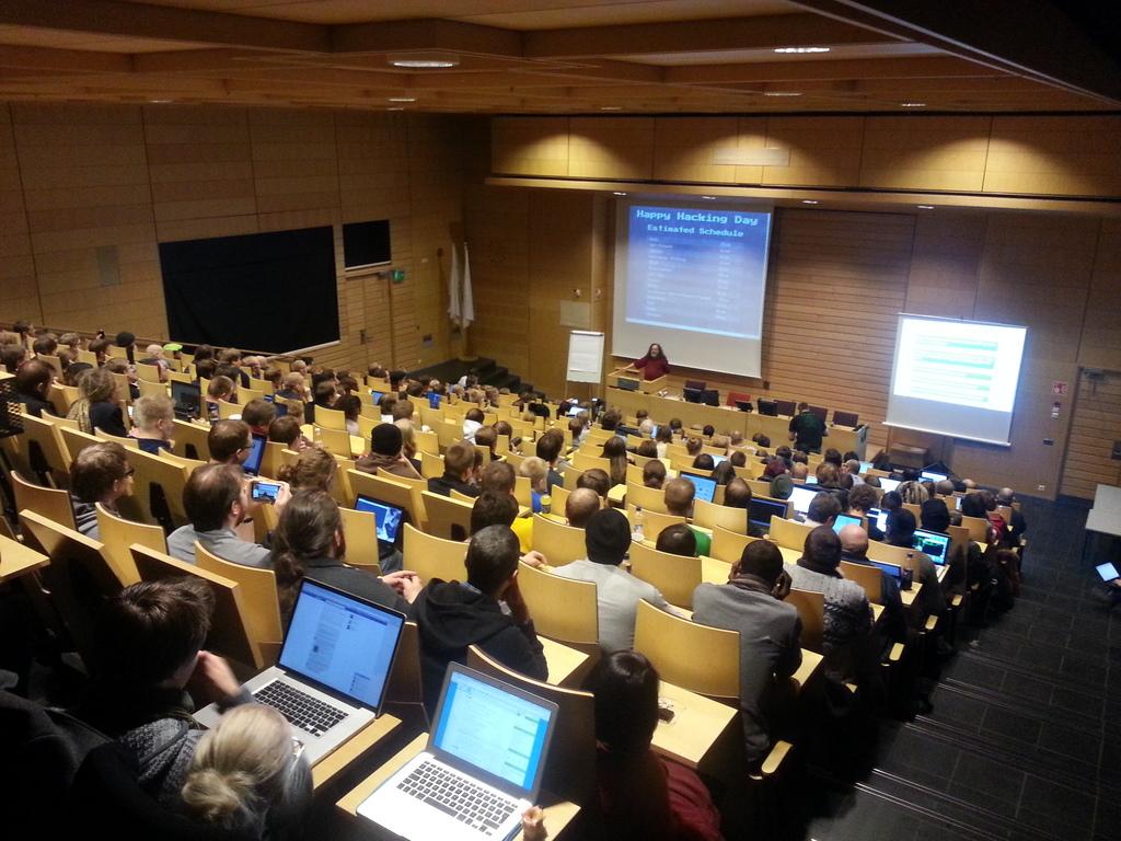 Richard Stallman in Helsinki, Finland; Photo under CC BY-SA 3.0 and courtesy of Ryynänen Tuomo.