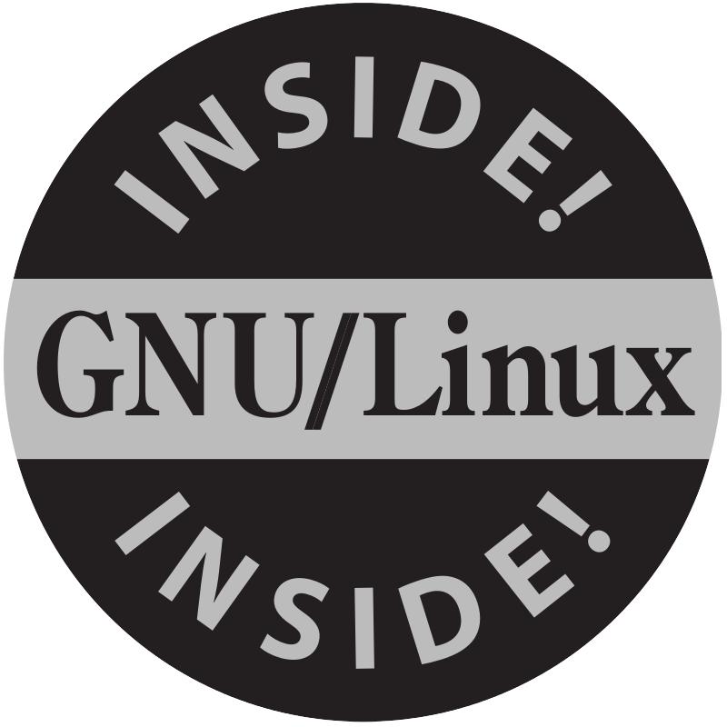 GNU stickers