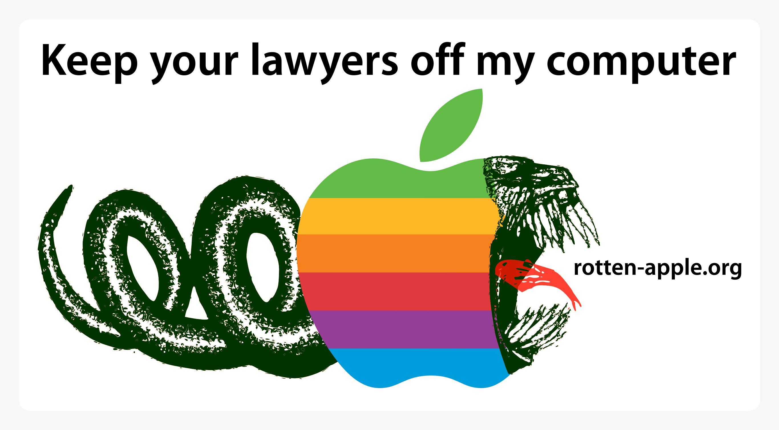 Keep your lawyers off my computer