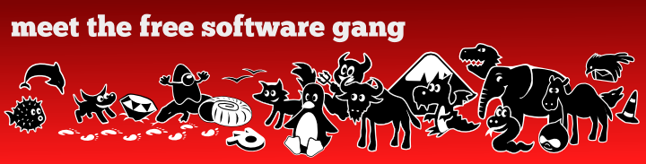 Meet the free software gang